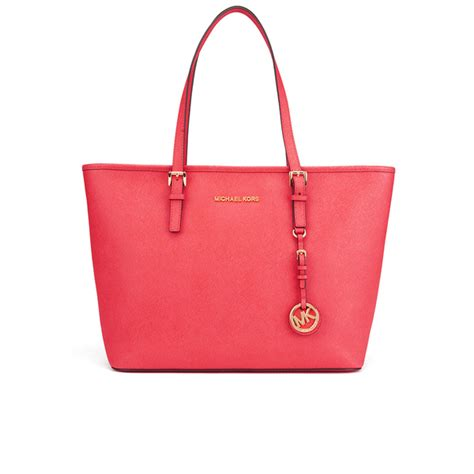 Michael Kors Coral Tote by Michael Michael Kors S Jet Set Travel Top Zip Tote