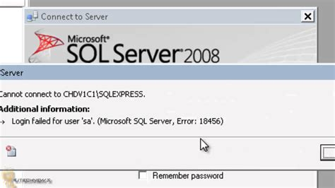 search protect uninstall does not work microsoft microsoft sql server error 18456 login failed for user