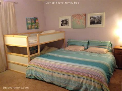 family bed our split level family bed cosleeping kids bedroom