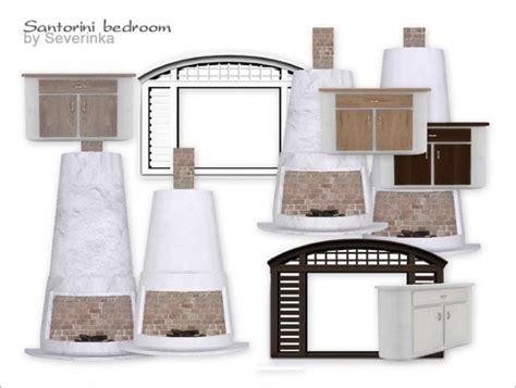 santorini bedroom santorini bedroom at sims by severinka 187 sims 4 updates