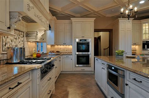 long kitchen designs elegant long island kitchen design for a large scale room