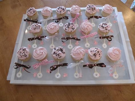 Baby Shower Cupcake Rattles by 25 Best Ideas About Baby Rattle Cupcakes On