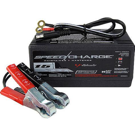 schumacher automotive speedcharge battery maintainer and