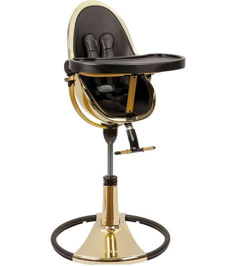 bloom seat pad fresco bloom fresco chrome high chair gold frame midnight black