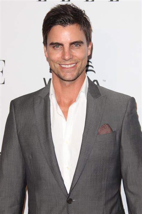 colin egglesfield woman colin egglesfield wore a simple suit to the elle women in