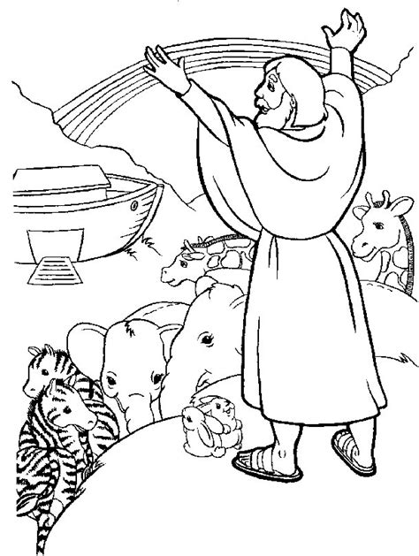 coloring pages for noah s ark free coloring pages of animals of noah