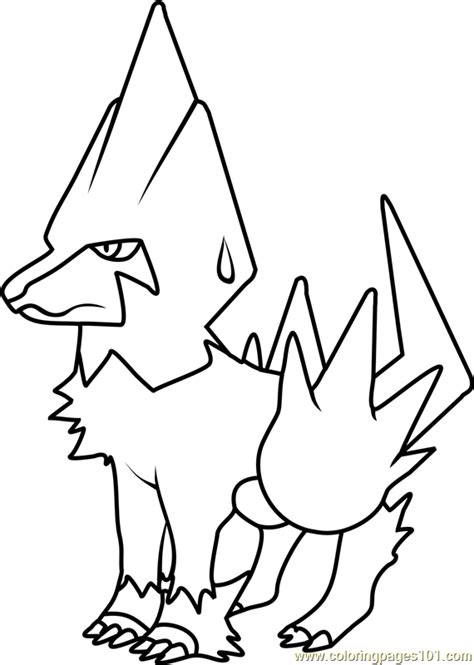 Electrike Pokemon Coloring Pages Images   Pokemon Images