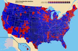 united states voting map by county united states 2012 world elections