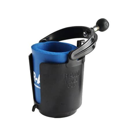 ram mount self leveling cup holder foam ram b 132bu