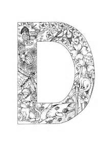 color d geography letter d coloring pages