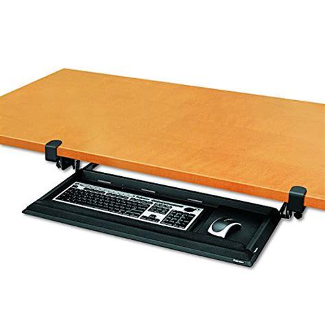 Fellowes Designer Suites Desk Ready Keyboard Drawer Crc80383 by Bush Business Furniture Universal Keyboard Shelf With