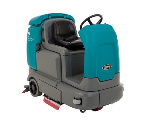 T12 Compact Battery Rider Scrubber   Tennant Company