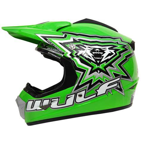 childs motocross helmet wulf cub crossflite childrens motocross mx kids junior
