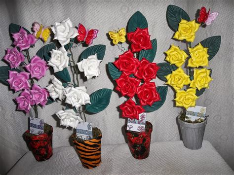 imagenes flores de goma eva centro de flores de goma eva imagui