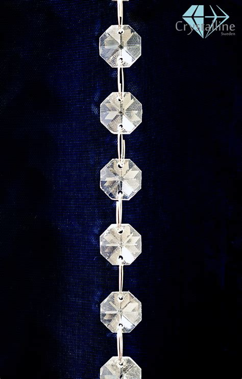 St Lovely kristallband lovely 18 st kopp 14 mm prismor