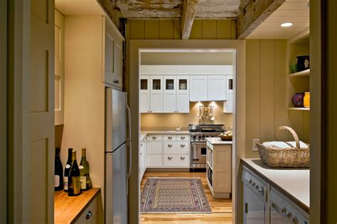 pantry and laundry farmhouse kitchen portland maine
