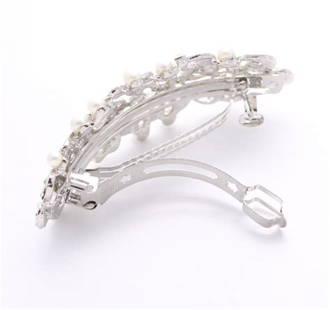 Pearl Hair Clip wedding hair clip pearl pearl hair barrette bridal