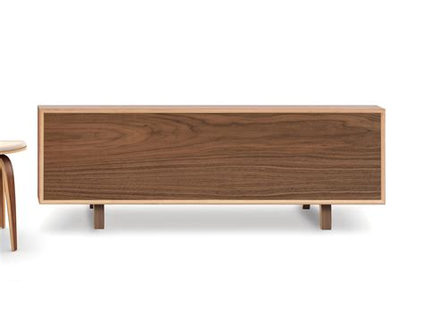 low credenza buy the cherner multiflex 4 door low credenza at nest co uk