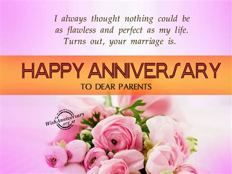 Wedding Wishes To Parents by Happy Anniversary Wishes To Parents Www Imgkid The