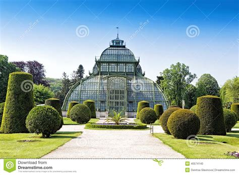 Vienna Botanical Garden Botanical Garden Near Schonbrunn Palace In Vienna Stock Photo Image 40574140