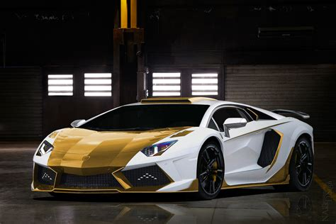 lamborghini gold and white lamborghini aventador gold carbon mansory flickr com
