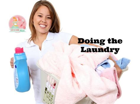Doing the Laundry   Stay at Home Mum