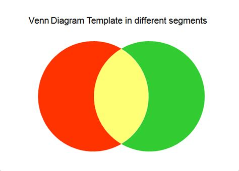 powerpoint venn diagram intersection free diagram powerpoint template