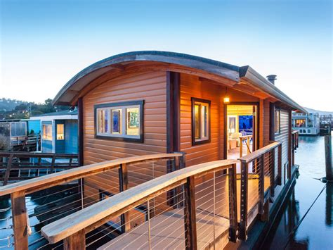 custom boat houses sausalito houseboat a small custom houseboat in sausalito california click on