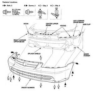 remove headlight assembly 2002 honda accord