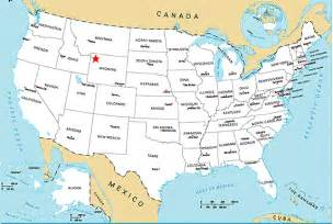 map of america yellowstone national park location of yellowstone park in the usa englishošaca