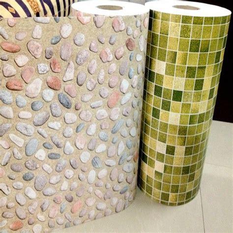 Mosaik Fliesen Tapete by Kaufen Gro 223 Handel Pvc Mosaic Wallpaper Aus China