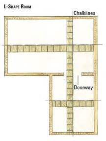 how to lay out a room making a dimensional floor plan planning your tile