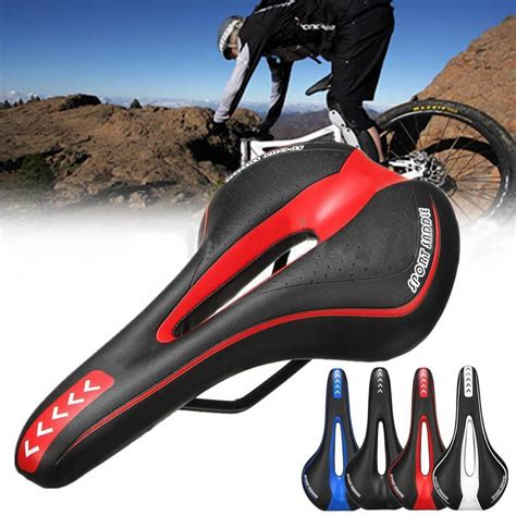 bike seat reviews comfort new mtb road mountain bike bicycle cycling comfort soft