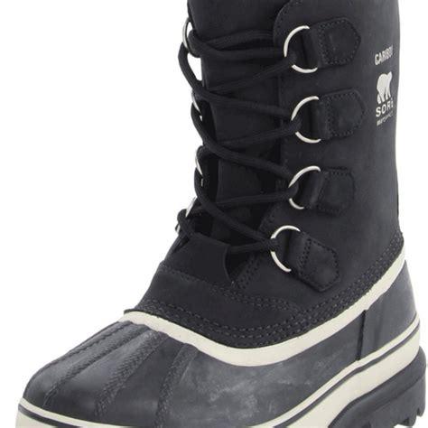 sorel caribou mid calf high boot top heels deals