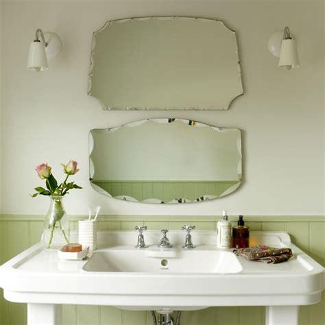 Vintage style mirrors small bathrooms ideas housetohome co uk