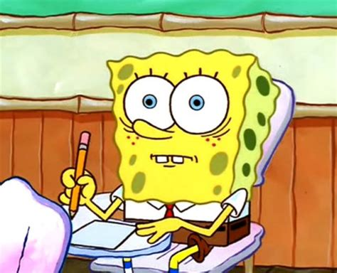 Spongebob Boating Essay by The Stages Of Finals As Told By Spongebob