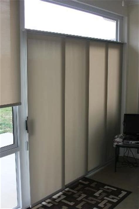 Vertical Blinds Room Divider Sliding Panels Are A Neat Vertical Treatment Great For Patio Doors And Can Even Be Used As A