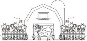 barn coloring pages barn coloring pages barn with animals gianfreda net