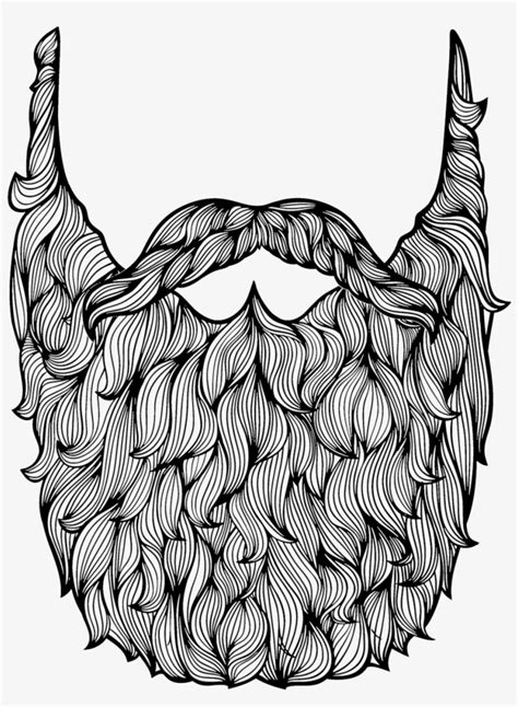 Mr Twits Beard - Free Colouring Pages