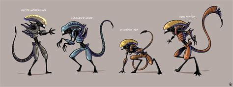 xenomorph tattoo design by havocschion drawing xenomorph roster by inkjava on deviantart