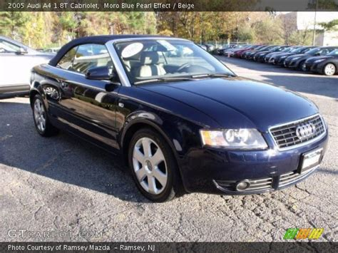 moro blue pearl effect  audi   cabriolet