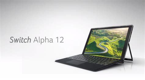 acer switch alpha 12 dengan sokongan penyejukan cecair
