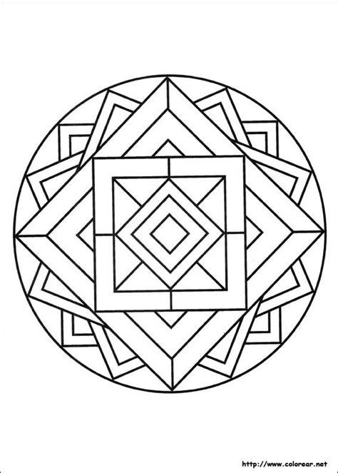mandalas cuadrados mandala con cuadrados pol 237 gonos estrellados pinterest