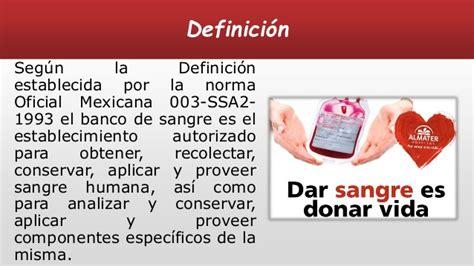 banco sangre banco de sangre