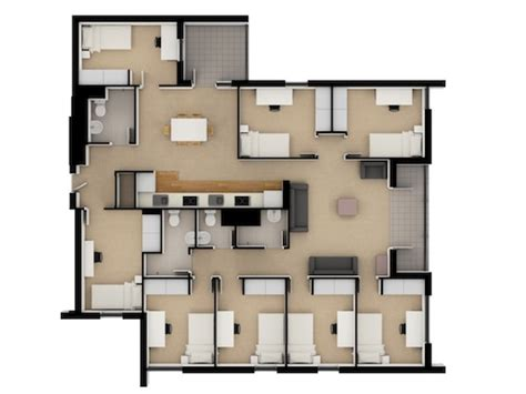 2 bedroom student apartments large studio apartment yura mudang floor plans loft