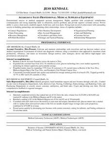 Supply Clerk Sle Resume by Sales Rep Resume Sales Sales Lewesmr