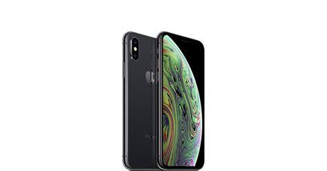 iphone xs gb space gray apple