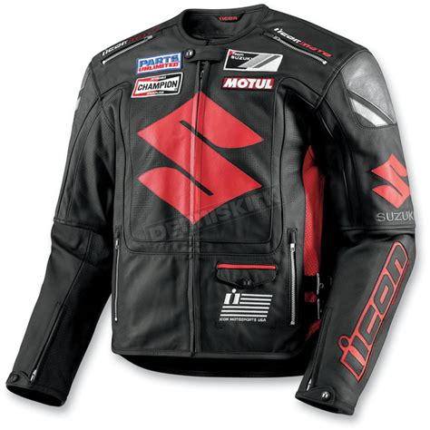 Icon Suzuki Icon Suzuki Victory Leather Jacket 28101637