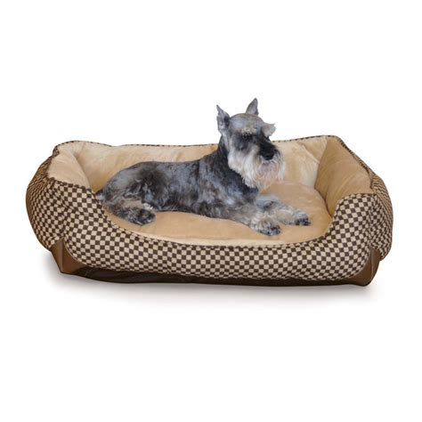 k h lounge sleeper self warming pet bed