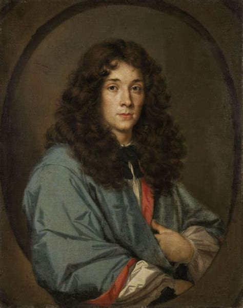 17th century long hair men portrait of a young man french artist of the 17th